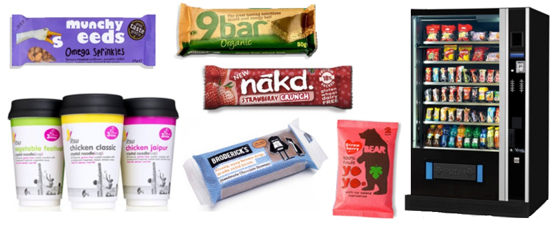 new vending products